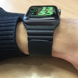 Casetify Apple Watch leather band 38MM!